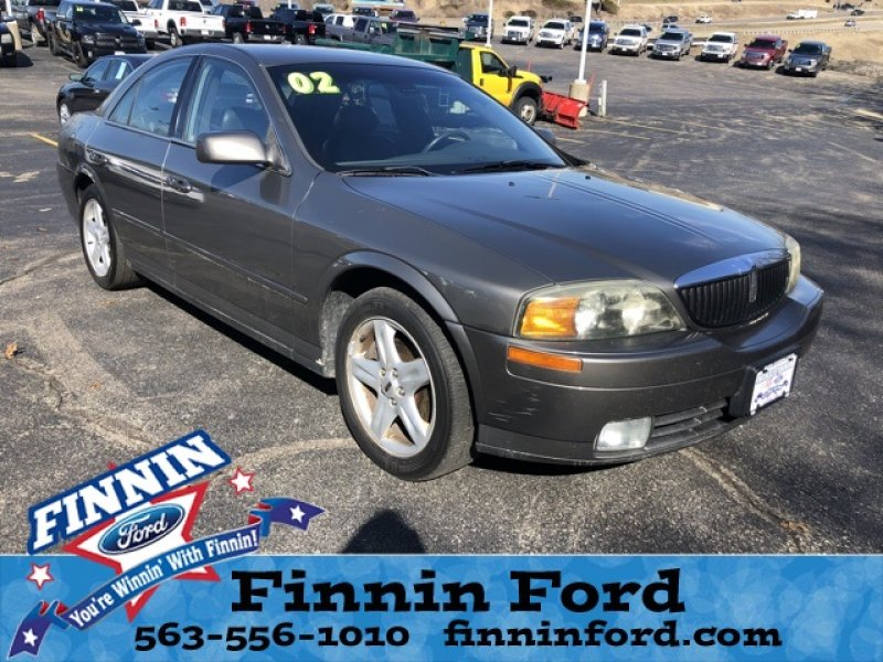 Photo Used 2002 Lincoln LS  for sale