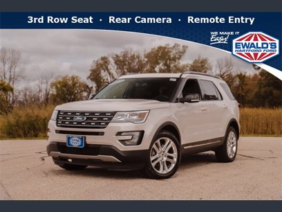 Photo Used 2017 Ford Explorer 4WD XLT for sale