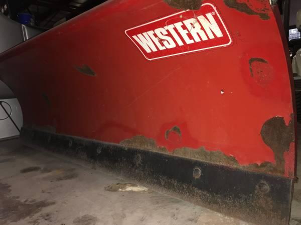 Photo Western 66 Snowplow Jeep YJ - $1,700 (Kieler)