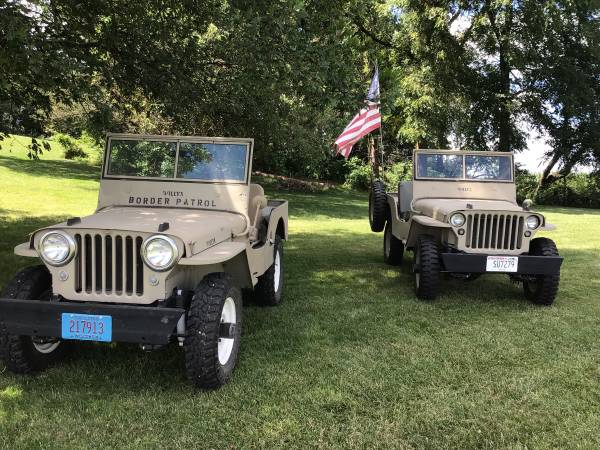 Photo Willys Jeep - $12,500 (Lancaster)