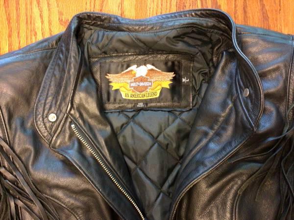 Photo Womens Harley Davidson Motorcycle Jacket - $200 (Blanchardville)