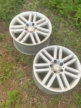 Photo 17 Inch Wheels (set of 4 Mercedes-Benz) - $400 (Duluth)
