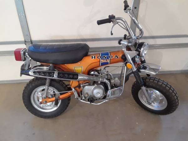 Photo 1972 Honda ct 70 - $3000
