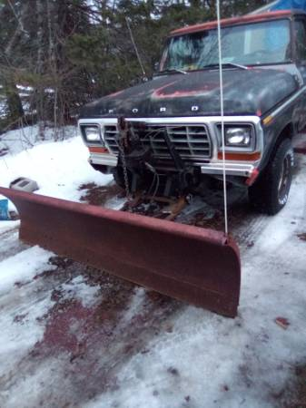 Photo 1979 Ford F150 plow truck - $1,500 (Duluth)