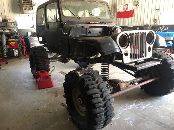 Photo 1979 Jeep CJ7 Rock Crawler - $3500 (Grand Rapids)