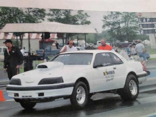 Photo 1988 Thunderbird drag car - $12,500 (Duluth)