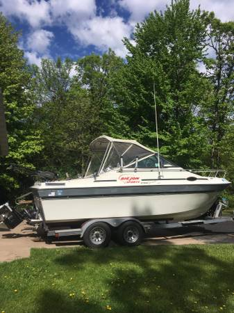 Photo 1989 21 FT sport-craft salmon walleye rig - $9,499 (Chippewa)