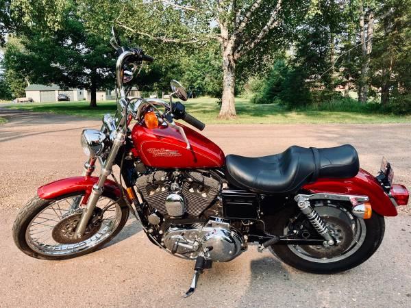 Photo 1998 Harley Sportster 1200 Custom - $3,990 (Duluth north)