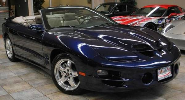 Photo 2002 Pontiac Trans Am WS6 Convertible - $17,500 (Hibbing)