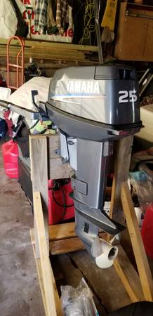 Photo 2007 Yamaha 25 hp (price drop) - $700 (Hibbing)
