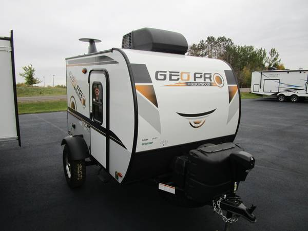 Photo 2021 Forest River RV Rockwood GEO Pro G12SRK Travel Trailer - $12,995 (Oak Lake RV Sale, Moose Lake MN)