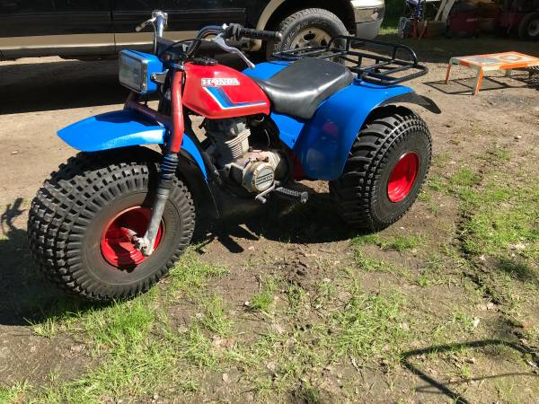 Photo 3 Wheel ATC 200 mint plus a spare parts wheeler to go with - $1,200 (Orr, MN)