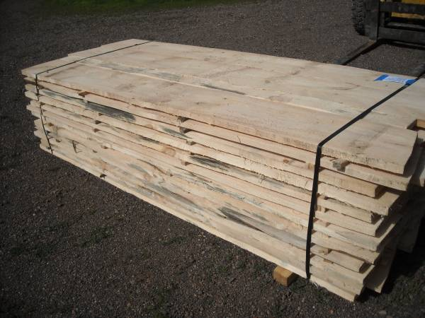 Photo 50 839 Knotty White Pine Lumber Assorted Widths 1 18quot thick Lot 183 - $175 (Sandstone)