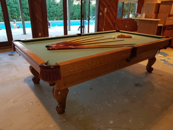 Photo 939 PETERS BILLIARDS SLATE POOL TABLE DELIVERY AND INSTALL AVAILABLE - $1200 (Duluth, MN)