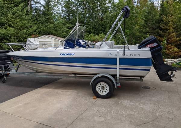 Photo Bayliner Trophy Center Console boat - $3,500 (Duluth)
