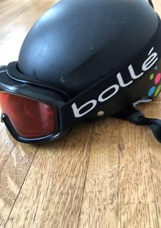 Photo Bern ski and bike helmet w bolle goggles for kids - $20 (Duluth)