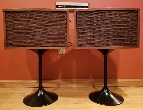 Photo Bose 901 Series IV With Active Equalizer  Stands - $350 (Duluth)