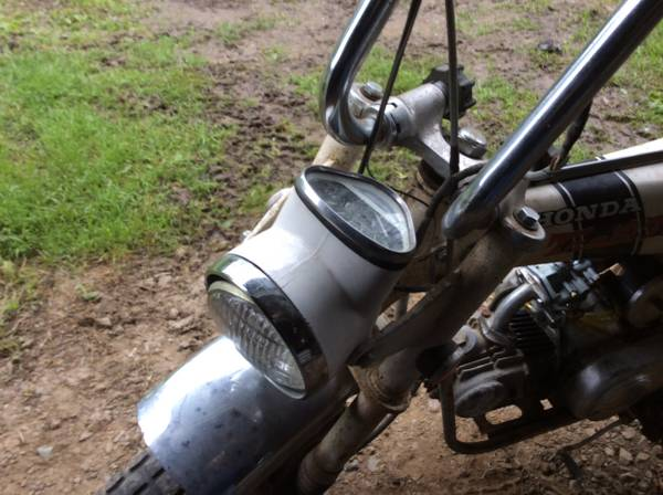 Photo CT70 Honda Trail 70 50 years old, running - $1,400 (HOYT LAKES)