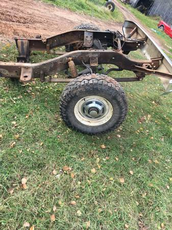 Photo Chevy Disc brake solid axle conversion 43-14 3. 07 ratio (1975) - $400 (South Range, WI)