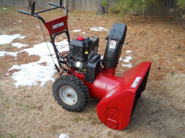 Photo Craftsman 8hp Snowblower with Electric Start - $395 (30 mins South of Carlton)