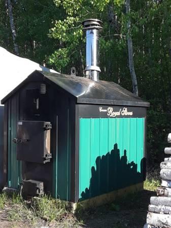 Photo Crown Royal Wood Boiler - $2,500 (Ray)