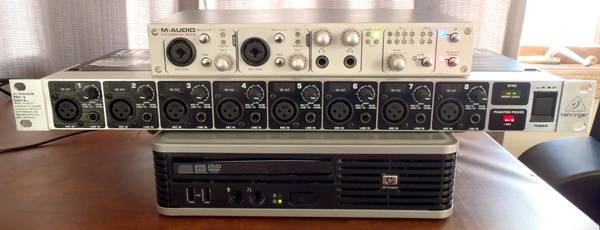 Photo Digital Audio Workstation Recording Mixing Computer DAW Small ADA8000 - $175 (Grand Rapids)