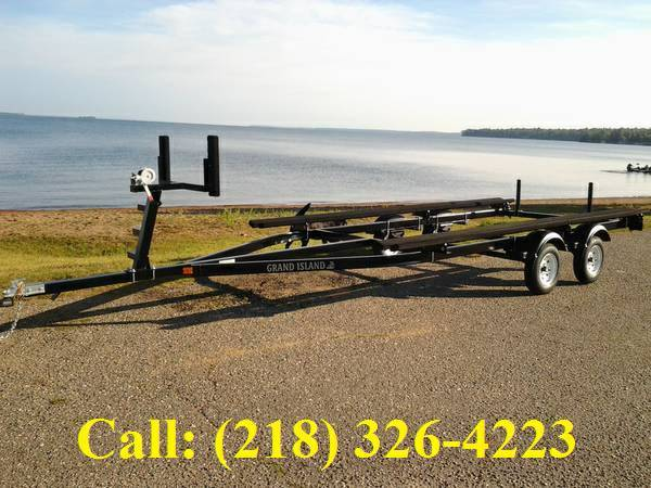 Photo Factory direct pontoon boat trailer (GRAND RAPIDS)