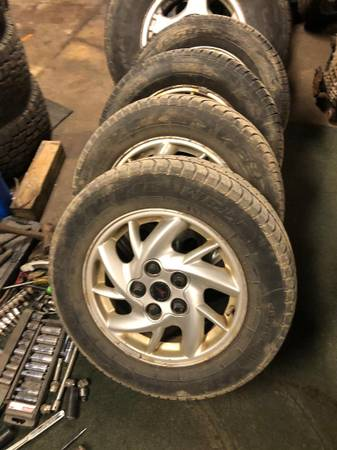 Photo GRAND AM -RIMSTIRES-2004-fit from 88-05 - $150 (duluth)