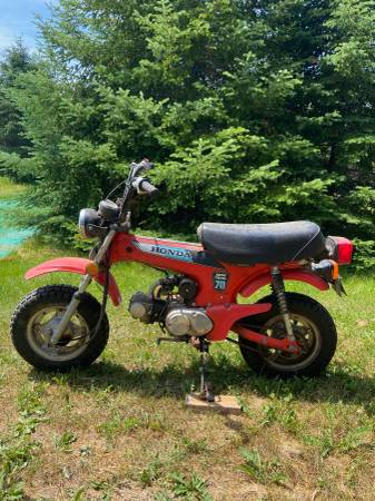 Photo Honda Trail 70 - $1500 (Duluth)