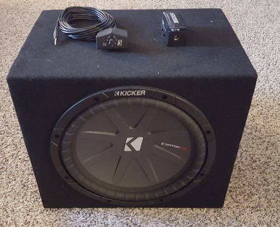 Photo Kicker 12in Sub  Amp and Accessories - $200 (Duluth)