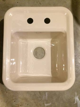 Photo Kohler bar sink - $50 (Mountain Iron)