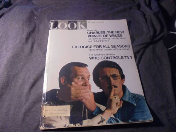 Photo LOOK MAGAZINE - June 24, 1969 Prince Charles, New Prince of Wales c - $15 (Superior)