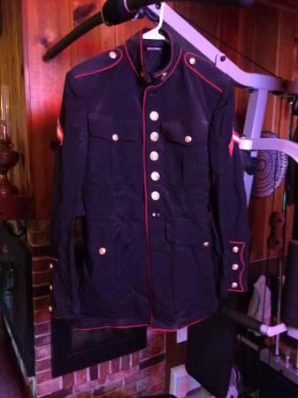 Photo Marine Corps Dress Blue Jacket - $30 (Duluth)
