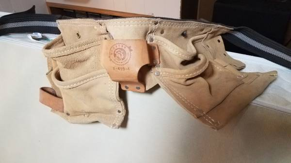 Photo Rooster Leather Tool Belt - Used - $10 (Piedmont Duluth)