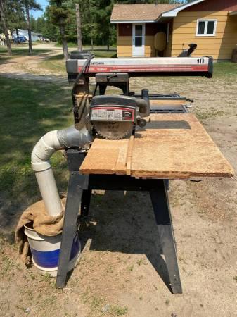Photo Sears Craftsman Radial Arm Saw - $150 (Nevis)