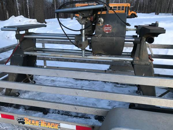 Photo Shopsmith Mark V (Model 500) it also has a dust collector and bandsaw. - $550 (near Cloquet Mn.)