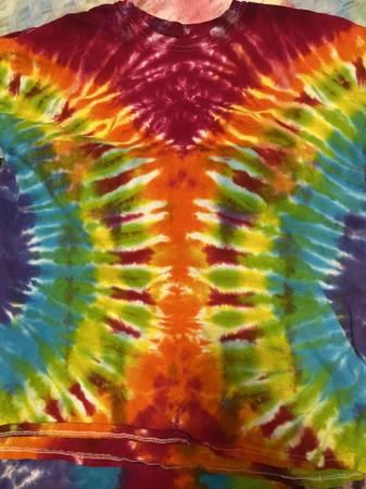 Photo Tie dye T-shirts - $10 (Lake Nebagamon)