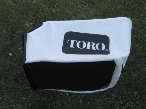 Photo Toro Lawn Grass Catcher Bag, mowing yard care, lawn mower landscaping - $40 (Sanborn, WI)