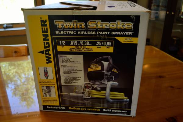Photo Wagner Electric Airless Paint Sprayer - $100 (South Range)