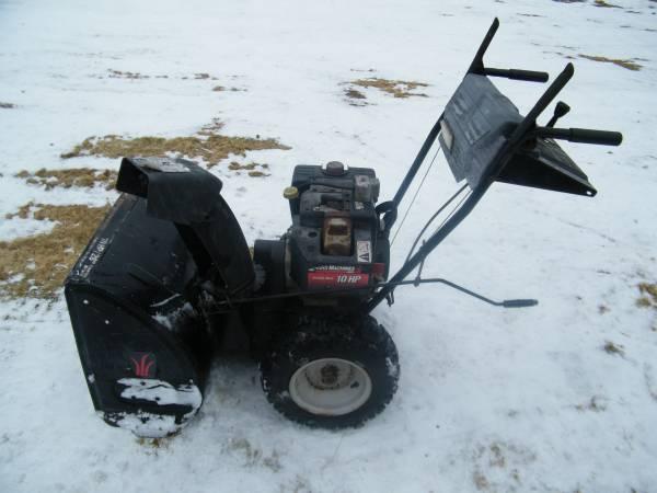 Photo Yard Machines SNOWBLOWER 10HP 28quot Wide Cut - $300 (Superior)