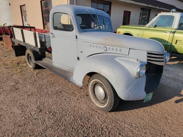 Photo 1946 Chevy Pickup - $2,500 (Paoli)