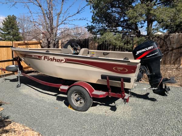 Photo 2002 Fisher 16 Avenger Pro Boat - $7,800 (Lakewood)