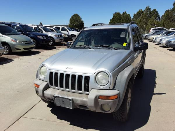 Photo 2002 Jeep Liberty Sport 4WD 4X4 AW4606 - $3,495 (PARKER)