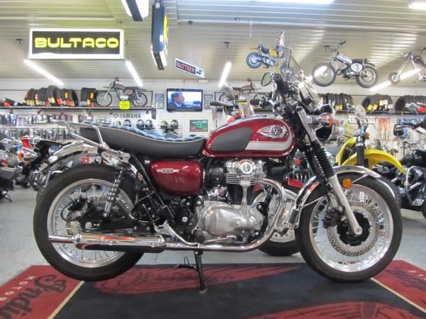 Photo 2020 Kawasaki W800 828 miles (Steeles Cycle Buy,Sell,Trade,Consign) - $7,499 (Englewood)