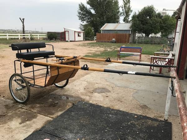 Photo 2 Wheel Horse Cart - $900 (Brush)