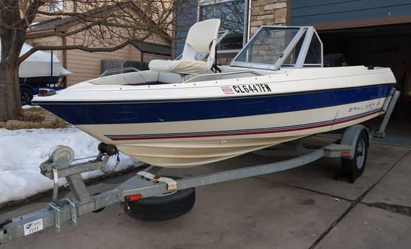 Photo 3993 Bayliner Classic 1639 open bow boat with 70 hp outboard - $3,750 (WESTMINSTER)