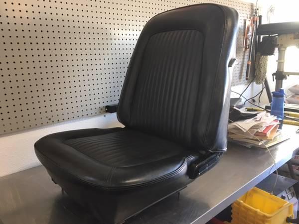 Photo 68 Black Mustang Bucket Seats - $450 (Penrose, CO)