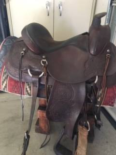 Photo Circle Y Saddle - 15quot Seat - $650 (Grand Junction)