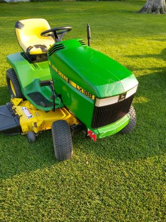 Photo John Deere LX188 riding lawn mower - $1,000 (Holyoke Co)