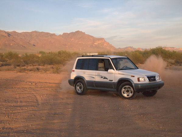 Photo Suzuki Sidekick Sport - $4500 (Sterling)